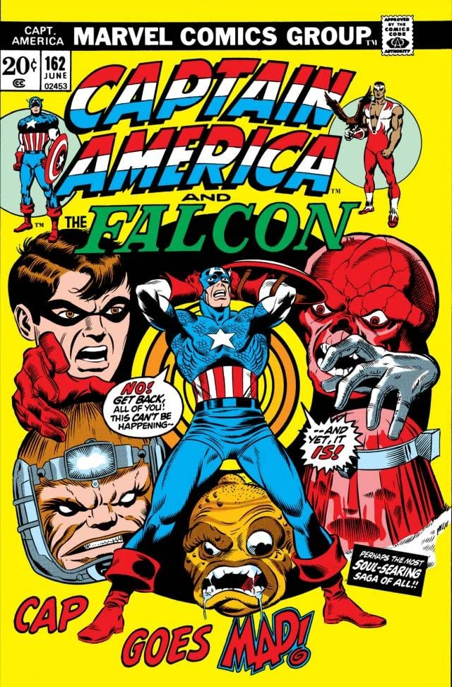 Captain America (1968-1996) #162