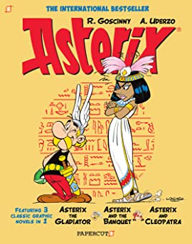 Asterix #2: Collects Asterix the Gladiator, Asterix and the Banquet