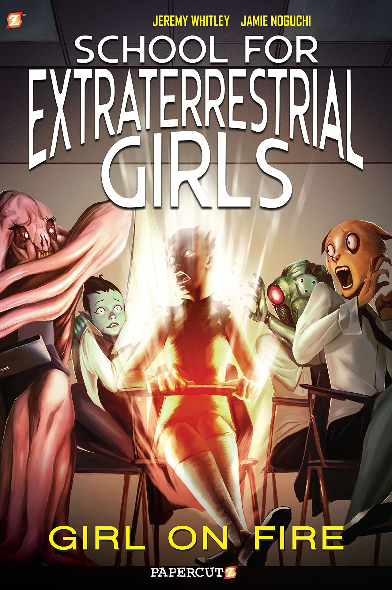 School for Extraterrestrial Girls Vol. 1: Girl on Fire