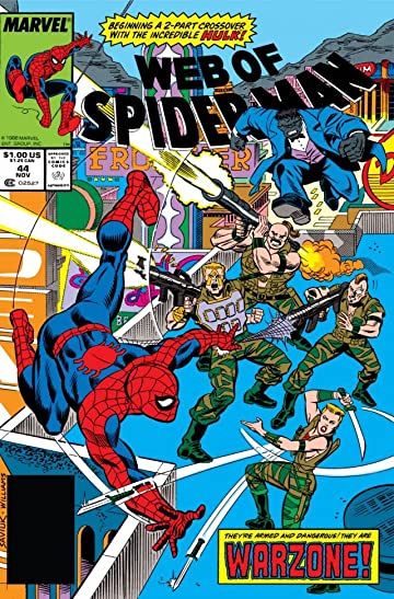 Web of Spider-Man (1985-1995) #44