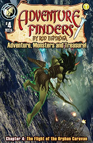 Adventure Finders: Adventure, Monsters and Treasure! No.4