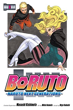 Boruto: Naruto Next Generations Vol. 8: Monsters
