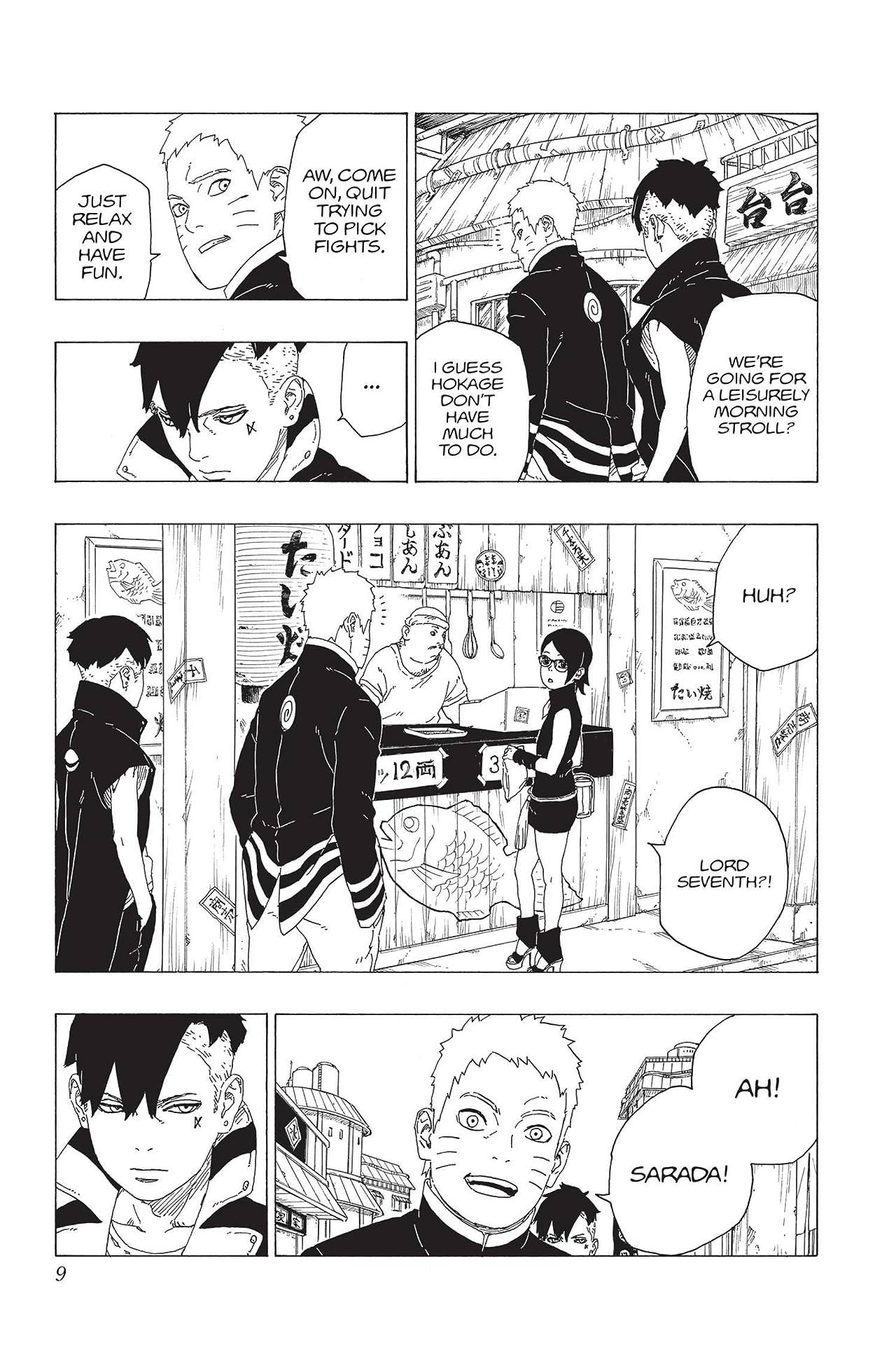 Boruto: Naruto Next Generations Vol. 8: Monsters