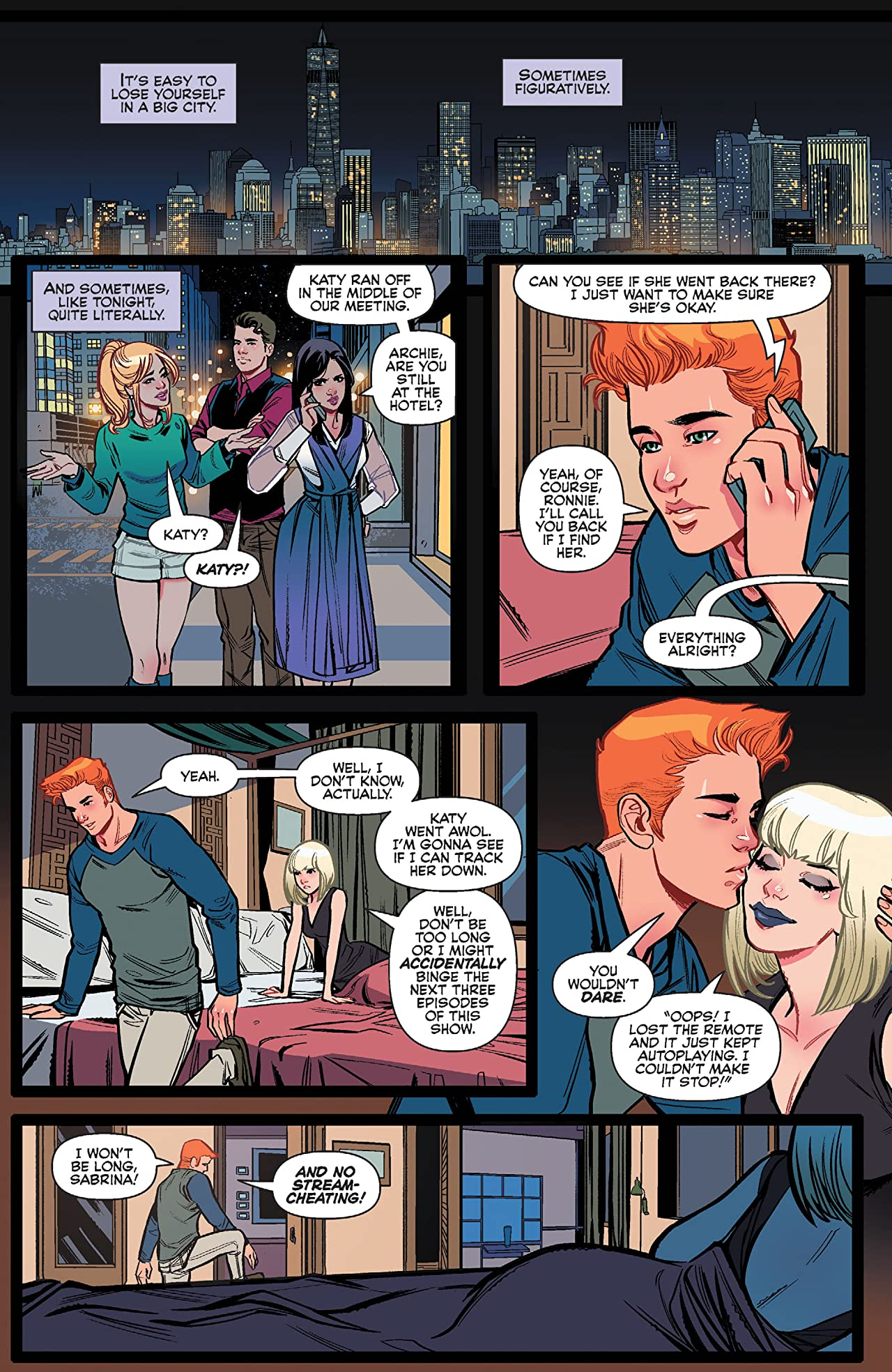Archie (2015-) (Archie & Katy Keene #4) #713