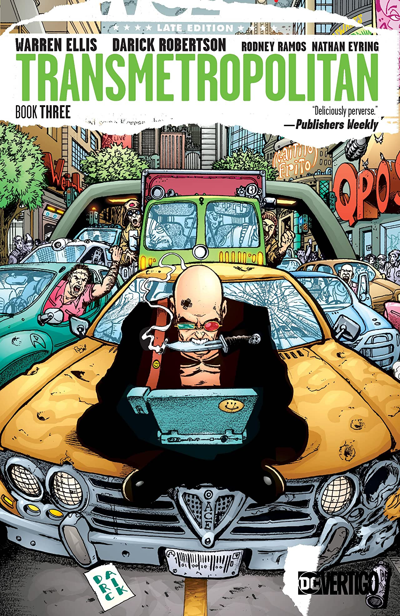 Transmetropolitan Book Three