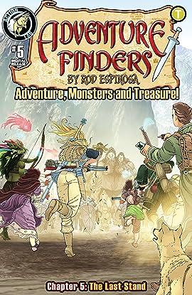 Adventure Finders: Adventure, Monsters and Treasure! #5