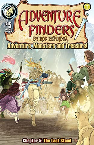 Adventure Finders: Adventure, Monsters and Treasure! No.5