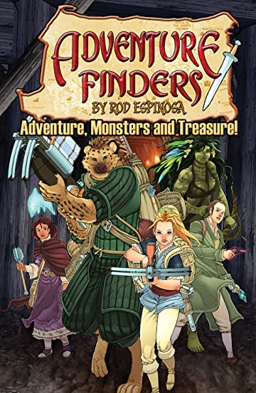 Adventure Finders Tome 3: Adventure, Monsters and Treasure!