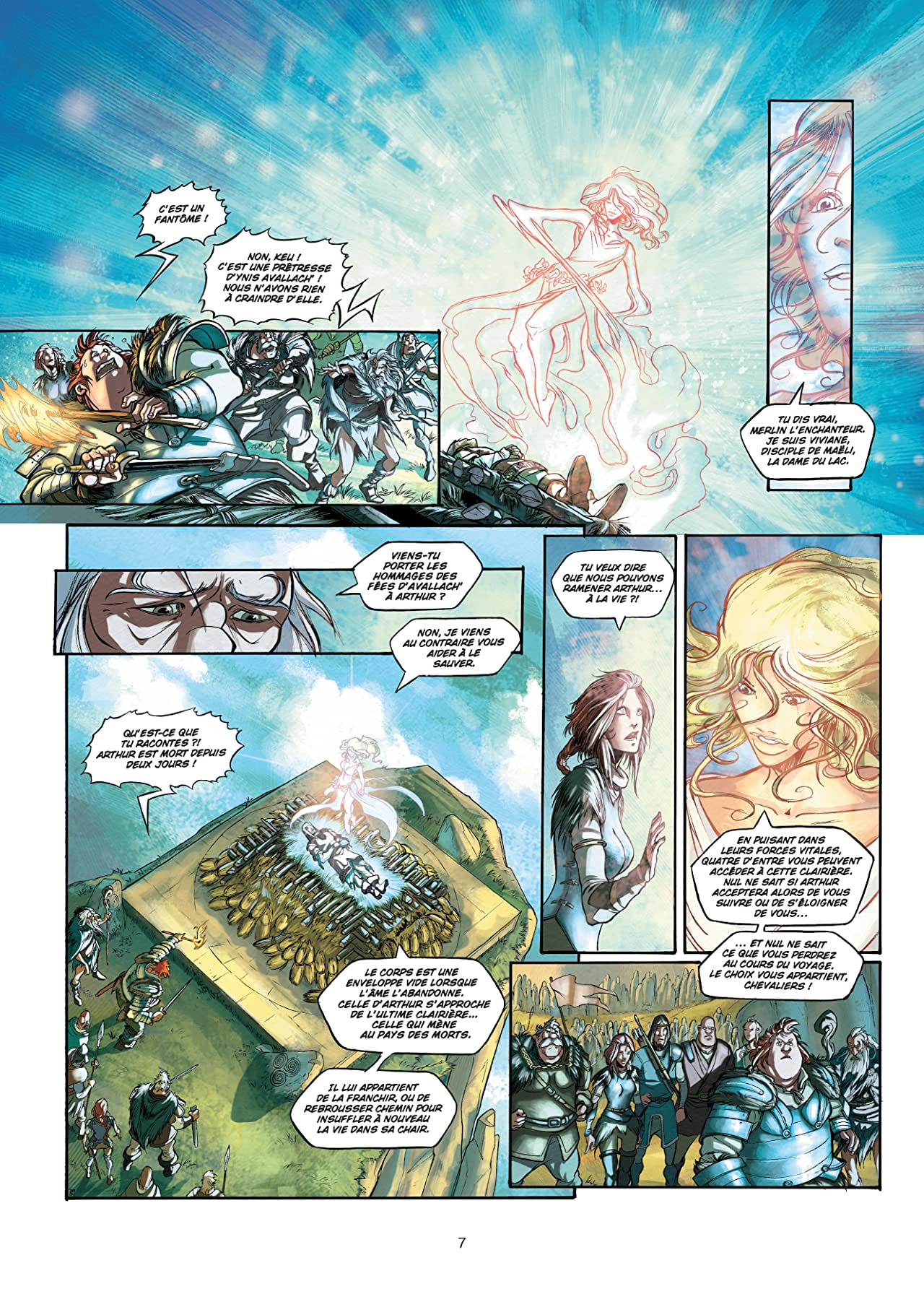 La Quête du graal Vol. 2: Le Tombeau de Balor