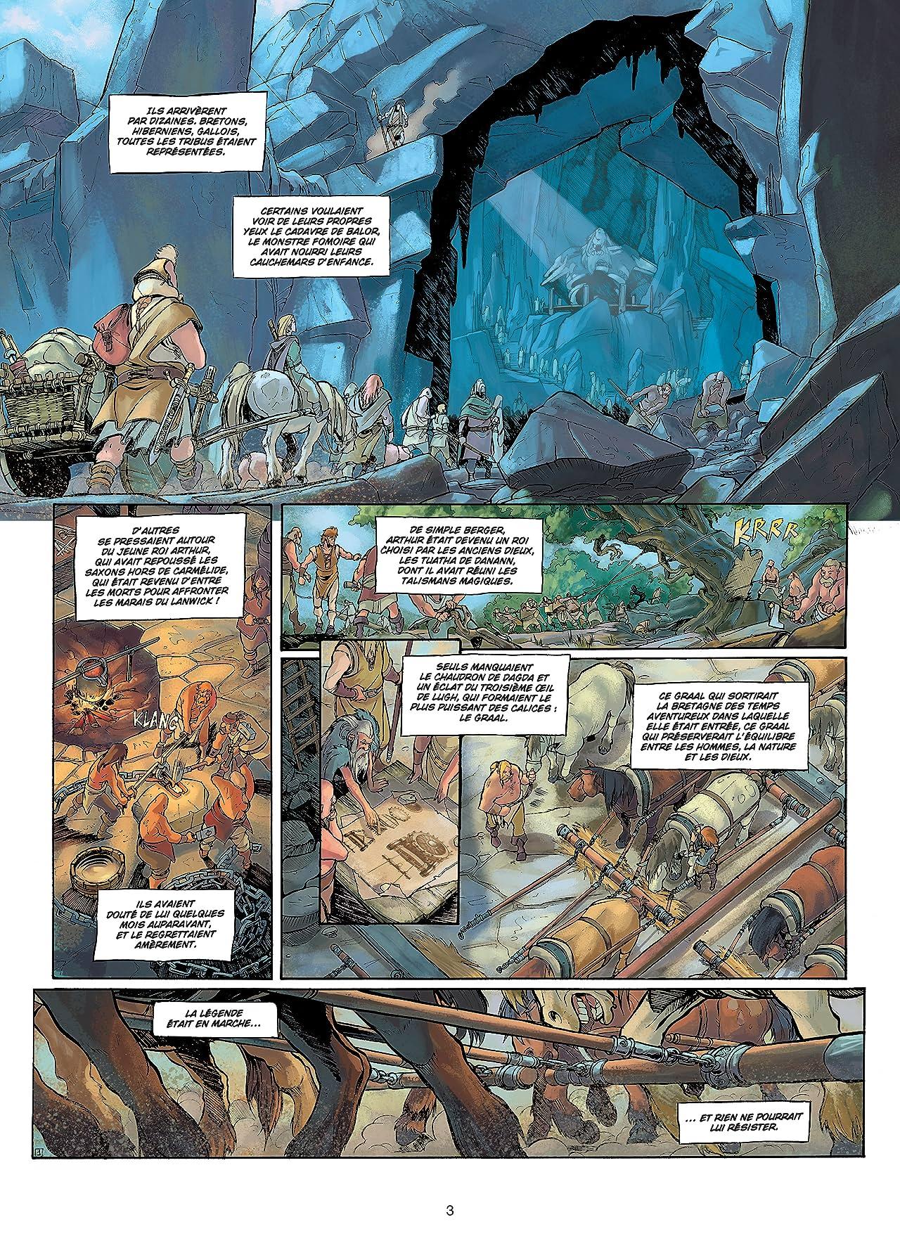 La Quête du graal Vol. 3: Les Chevaliers de la table ronde
