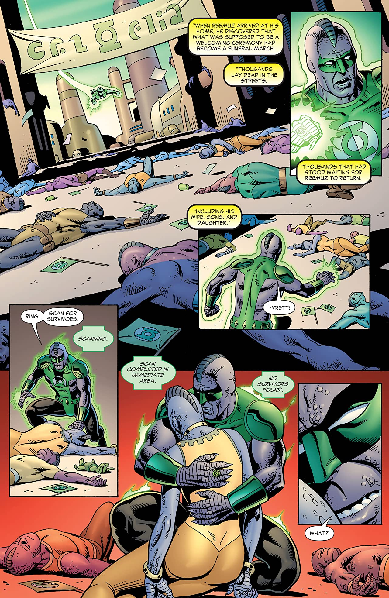Green Lantern by Geoff Johns Book Three