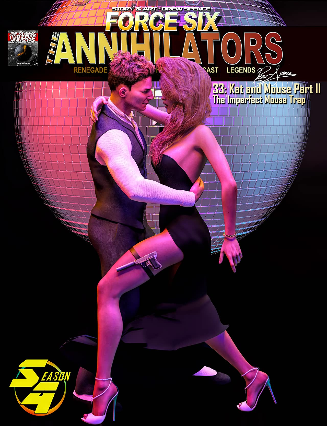 Force Six, The Annihilators #33