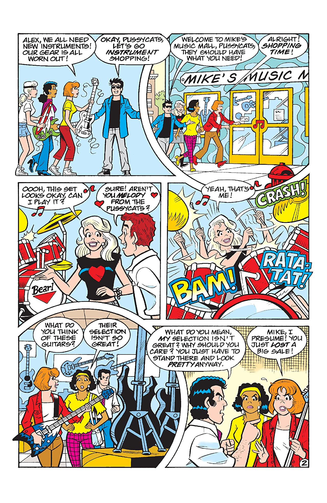 Archie Comics 80th Anniversary Presents Josie and the Pussycats