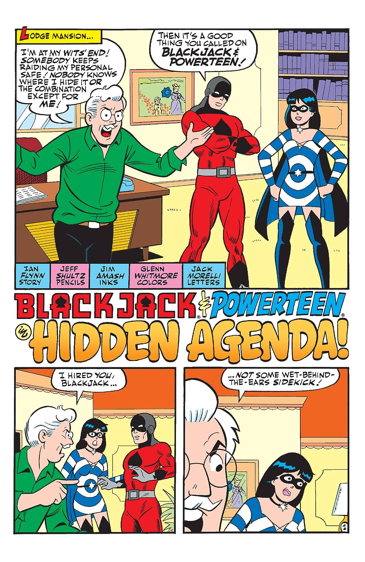 Archie Comics 80th Anniversary Presents Powerteen + BlackJack