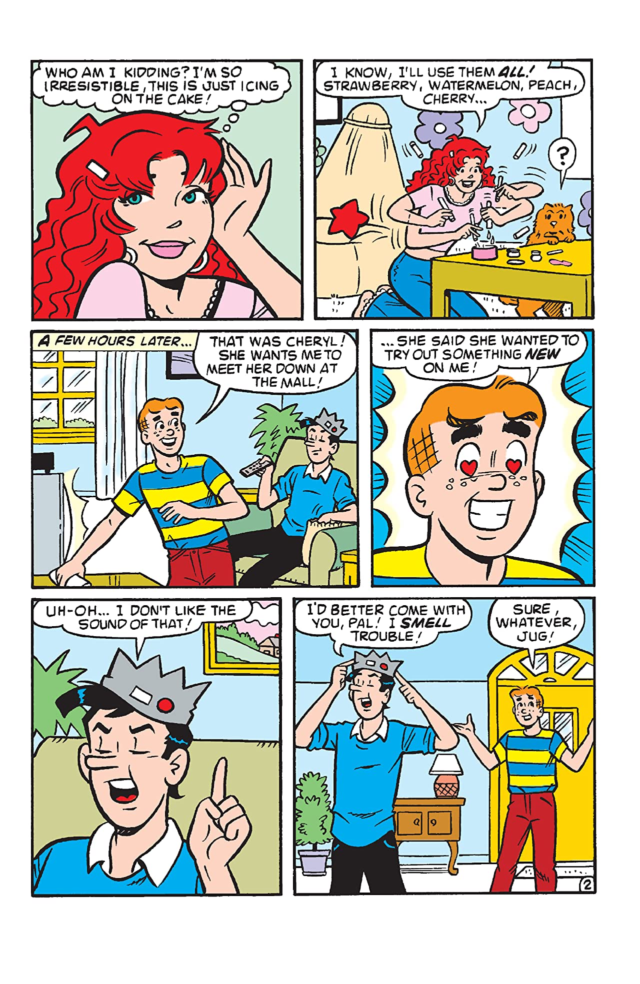 Archie Comics 80th Anniversary Presents Cheryl Blossom