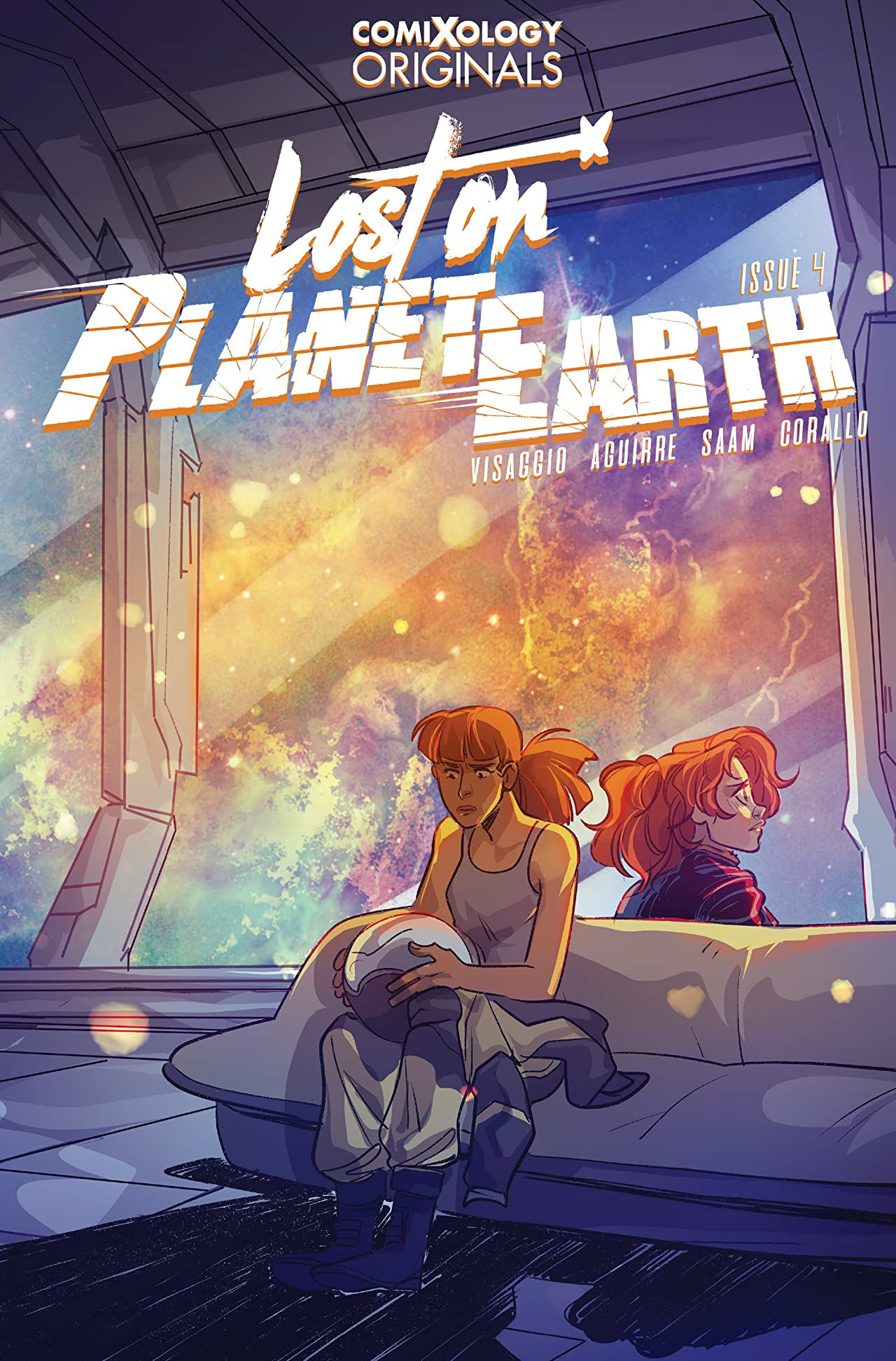 Lost On Planet Earth (comiXology Originals) No.4 (sur 5)