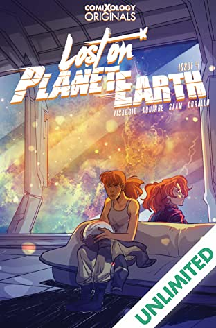 Lost On Planet Earth (comiXology Originals) #4 (of 5)