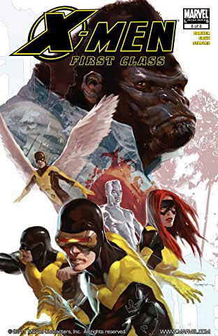 X-Men: First Class #8 (of 8)