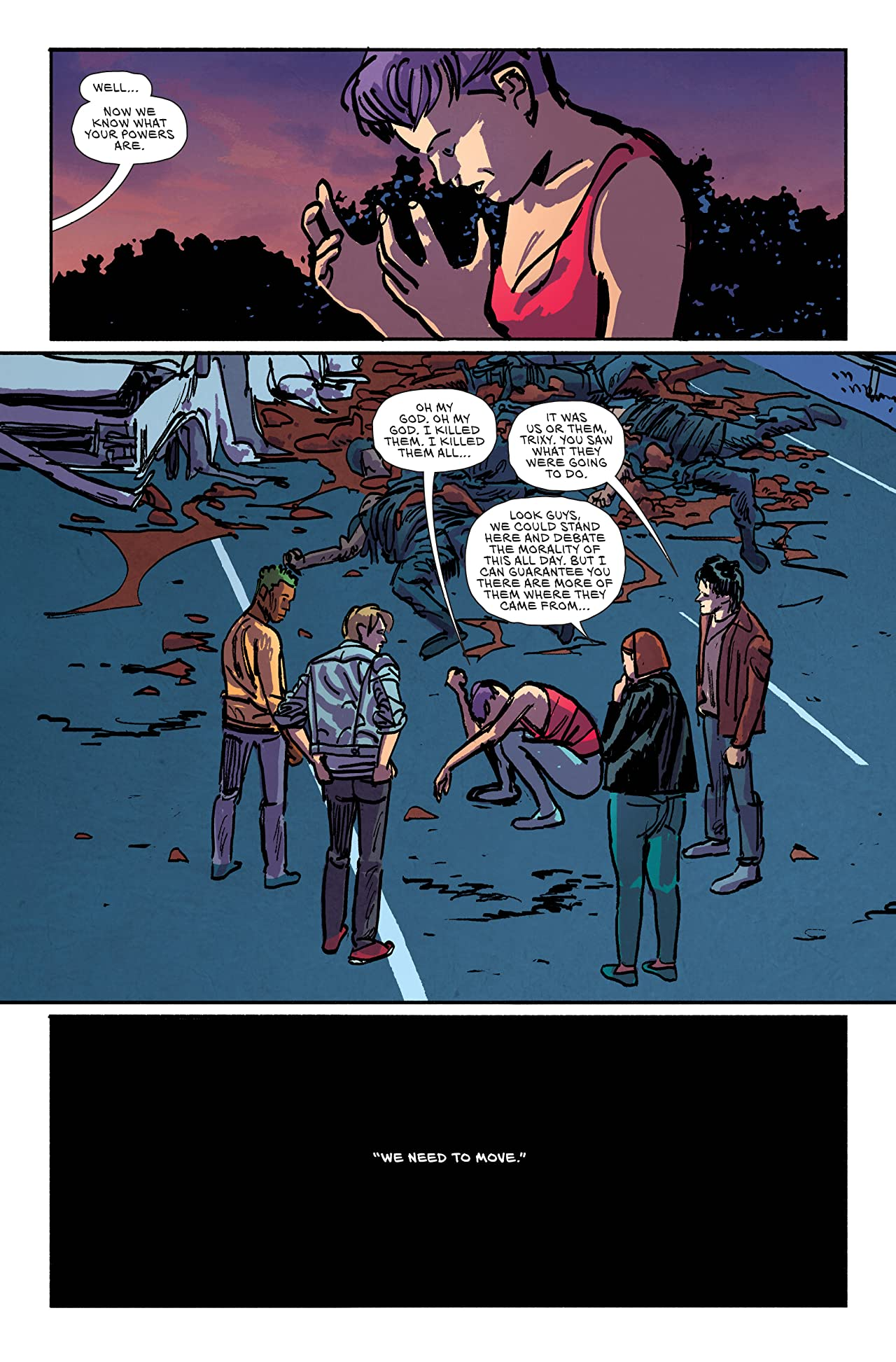 Youth (comiXology Originals) #3 (of 4)