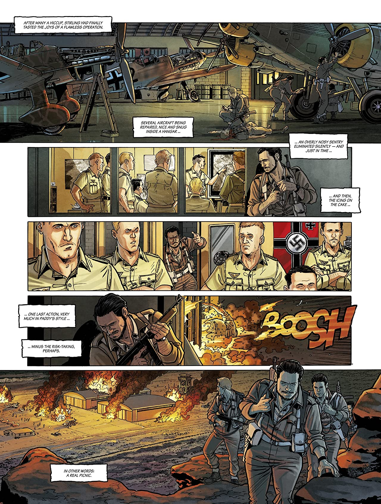 The Regiment - The True Story of the SAS Tome 3