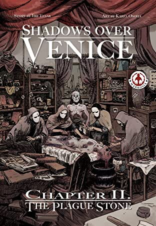 Shadows Over Venice #2: The Plague Stone
