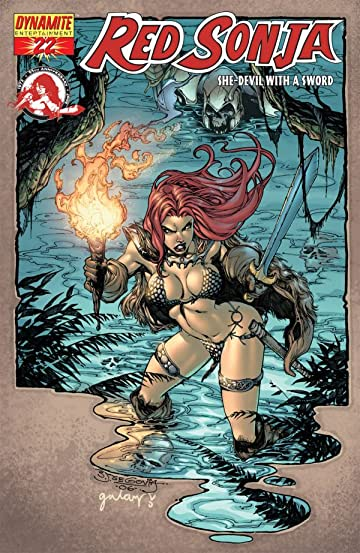 Red Sonja: She-Devil With a Sword #22