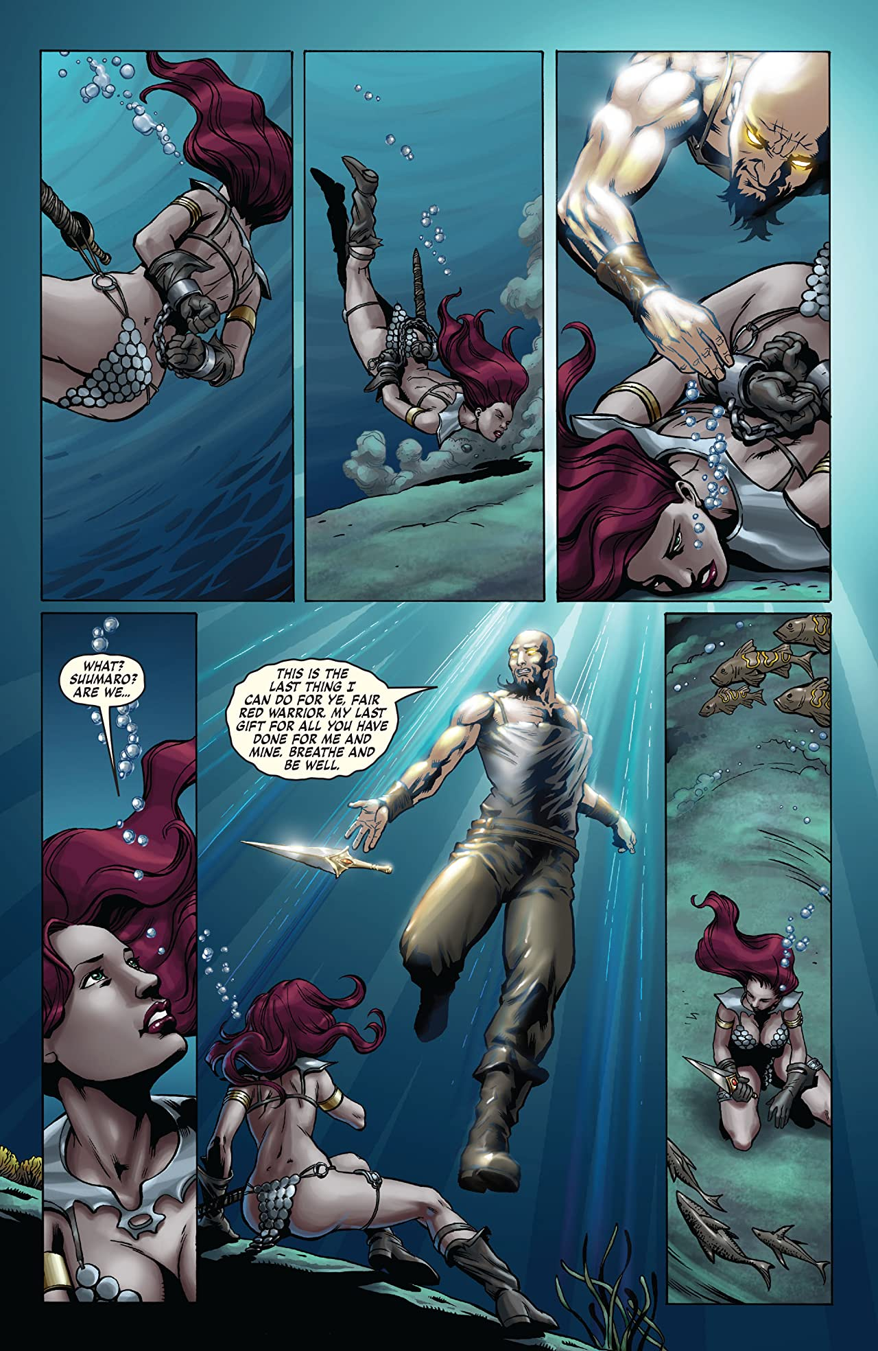 Red Sonja: She-Devil With a Sword #23