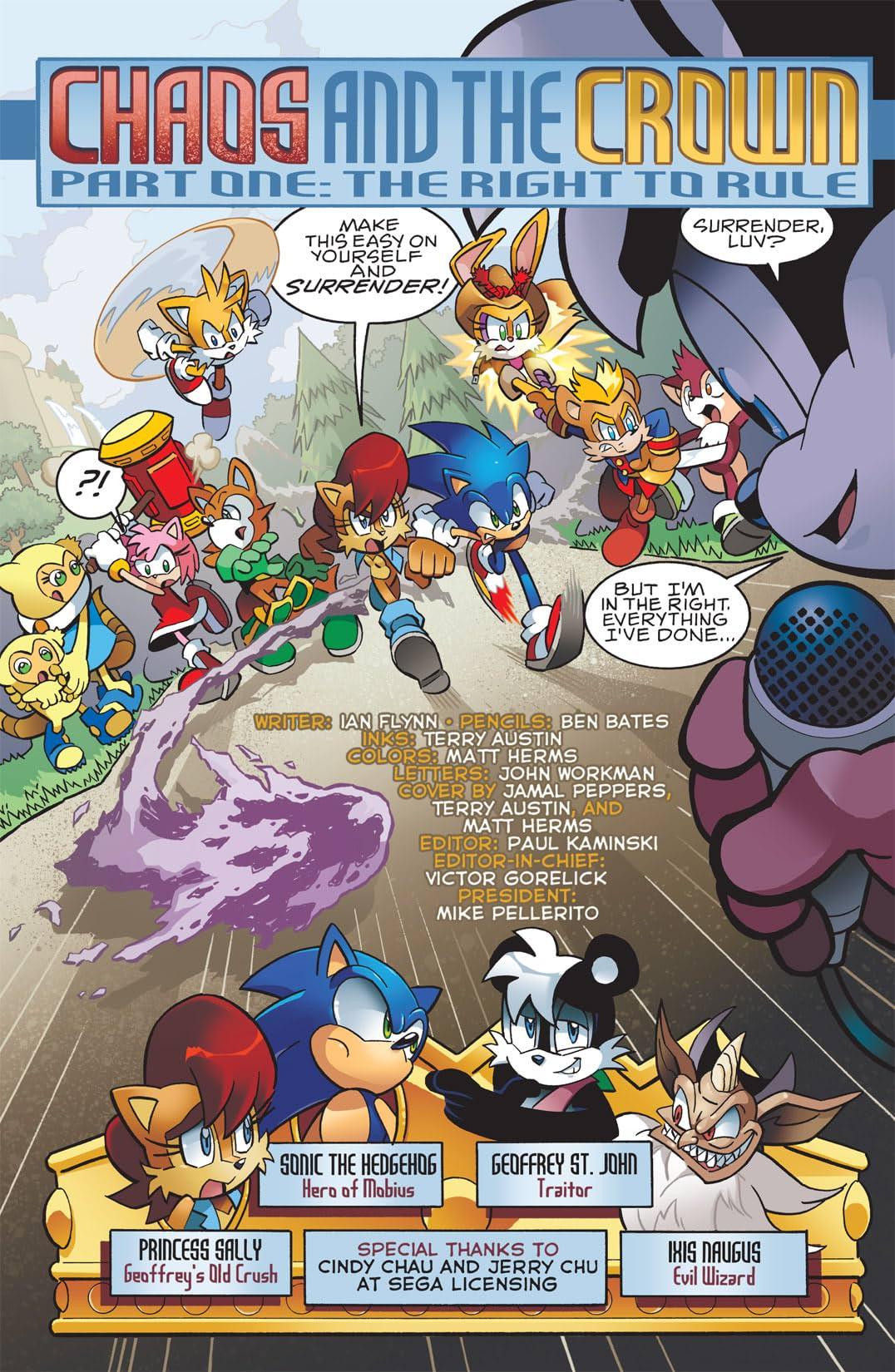 Sonic the Hedgehog #223