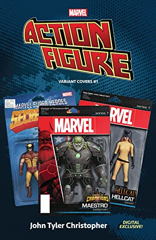 Marvel: The Action Figure Variant Covers #1