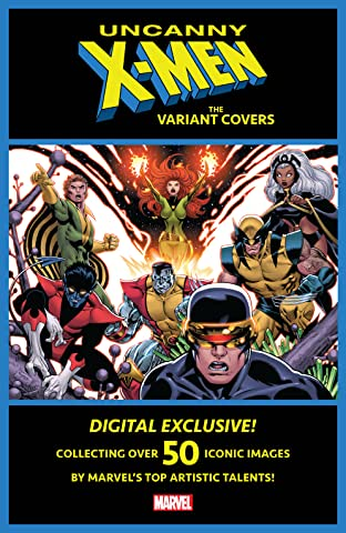 Uncanny X-Men: The Variant Covers #1