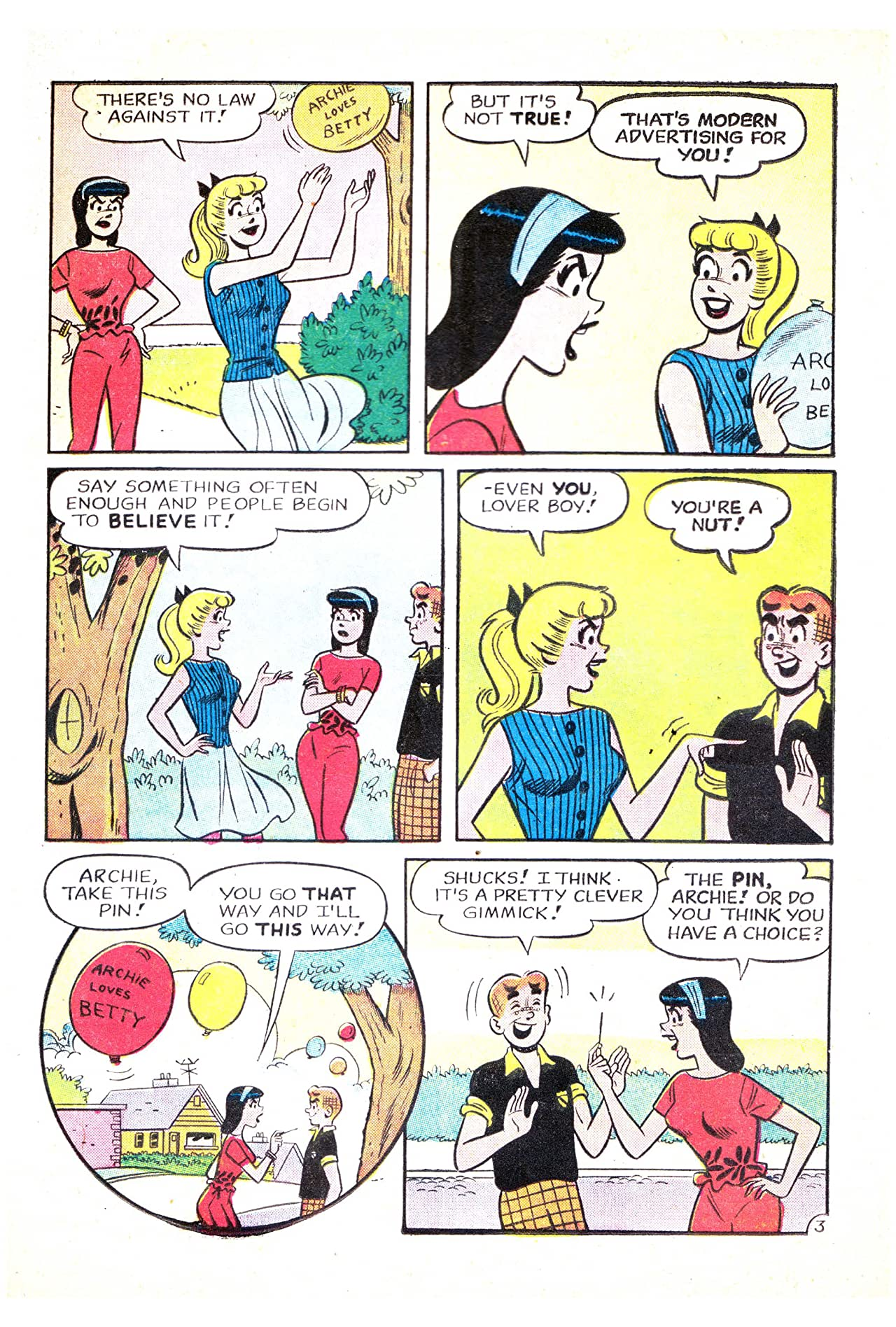 Archie's Girls Betty & Veronica #83