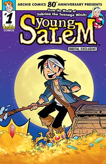 Archie Comics 80th Anniversary Presents Young Salem No.9