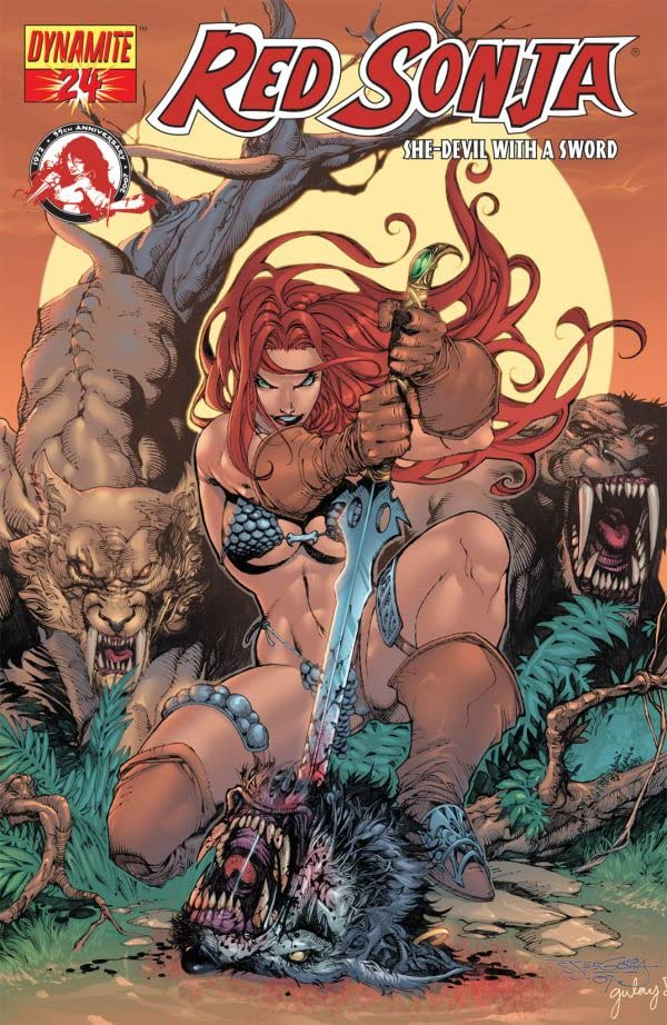 Red Sonja: She-Devil With a Sword #24
