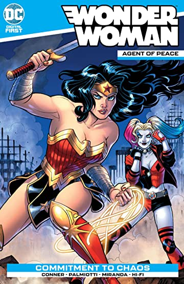 Wonder Woman: Agent of Peace #1