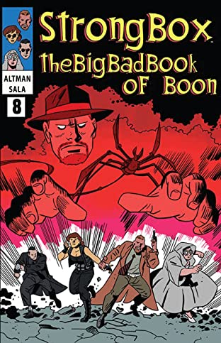 Strong Box: The Big Bad Book of Boon #8