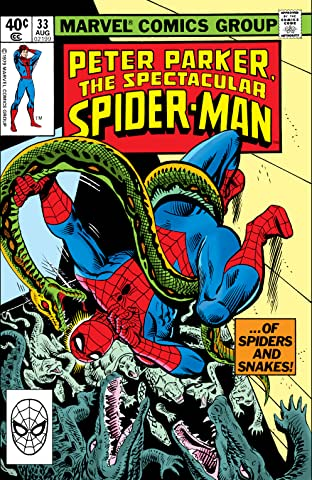 Peter Parker, The Spectacular Spider-Man (1976-1998) #33