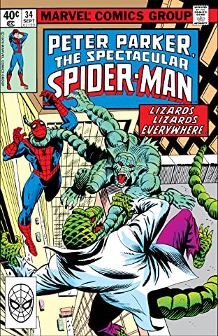 Peter Parker, The Spectacular Spider-Man (1976-1998) #34