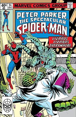 Peter Parker, The Spectacular Spider-Man (1976-1998) #34