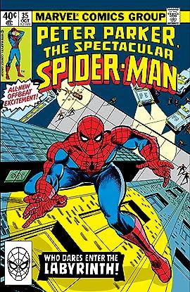 Peter Parker, The Spectacular Spider-Man (1976-1998) #35