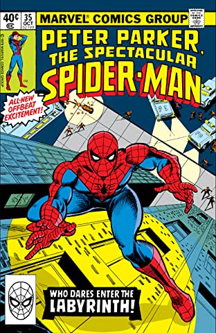 Peter Parker, The Spectacular Spider-Man (1976-1998) #35