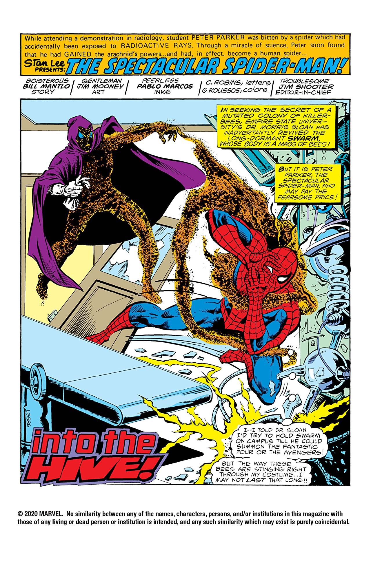 Peter Parker, The Spectacular Spider-Man (1976-1998) #37