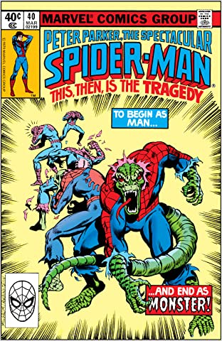 Peter Parker, The Spectacular Spider-Man (1976-1998) #40