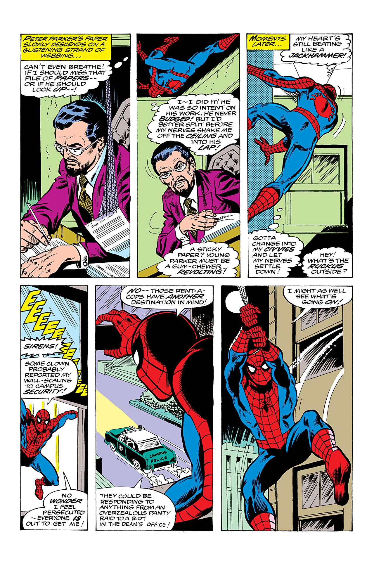 Peter Parker, The Spectacular Spider-Man (1976-1998) #41