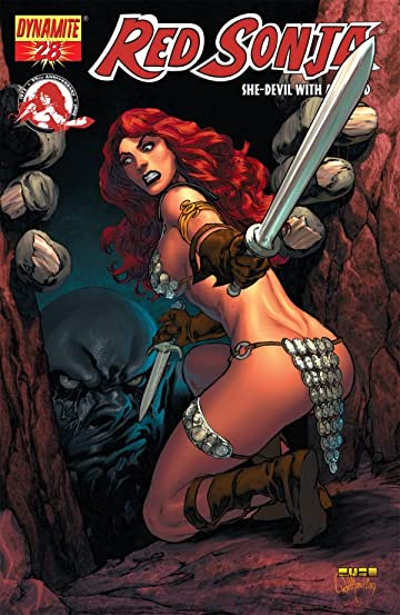 Red Sonja: She-Devil With a Sword #28