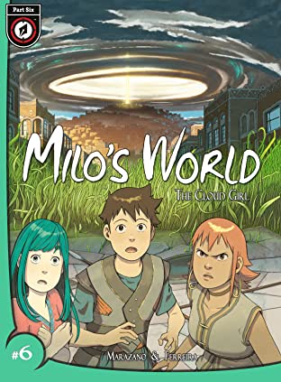 Milo's World Tome 3 No.6: The Cloud Girl