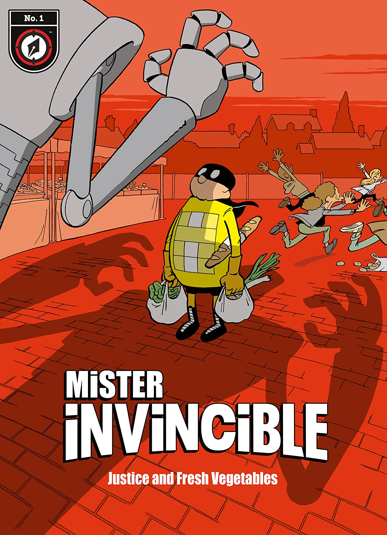 Mister Invincible No.1: Justice and Fresh Vegetables