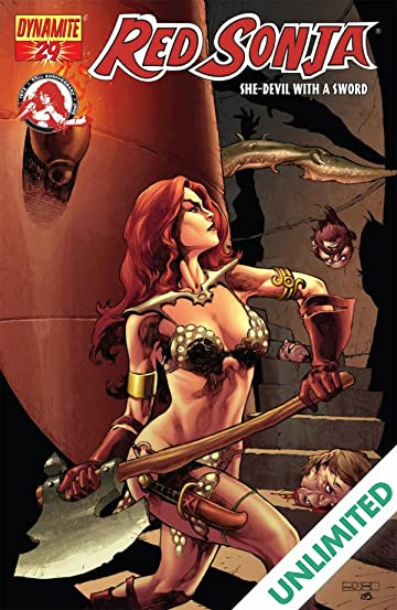 Red Sonja: She-Devil With a Sword #29