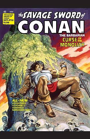 Savage Sword Of Conan (1974-1995) #33