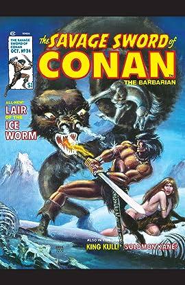 Savage Sword Of Conan (1974-1995) #34