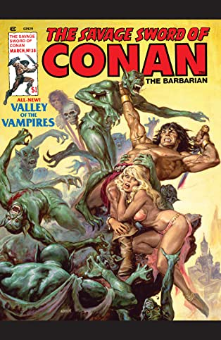 Savage Sword Of Conan (1974-1995) #38